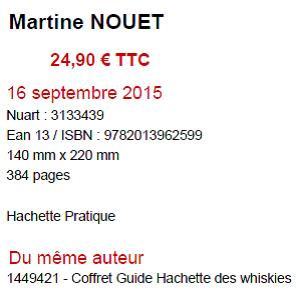 L96 Guide du whisky  - M. Nouet